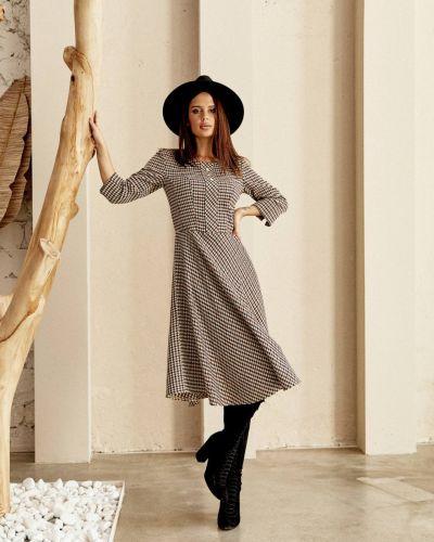 Шерстяное платье - коричневое Jaded London