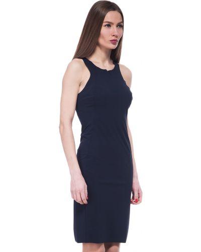 Синее платье весеннее Patrizia Pepe