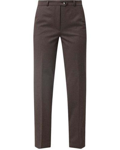 Brązowe spodnie materiałowe Zerres