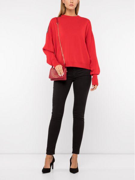 Sweter oversize - czerwony The Kooples