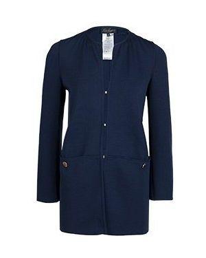 Пальто пальто синее Luisa Spagnoli
