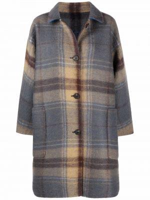 Шерстяное пальто - синее Sofie D'hoore