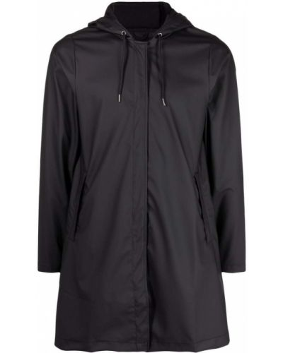 Płaszcz przeciwdeszczowy - czarny Rains