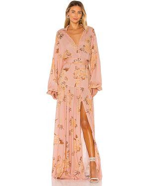 Różowa sukienka długa na co dzień Keepsake