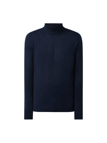 Sweter bawełniany - niebieski Jack & Jones