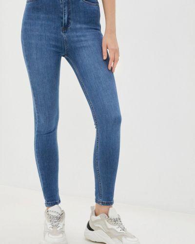 Синие джинсы-скинни узкого кроя Trendyol