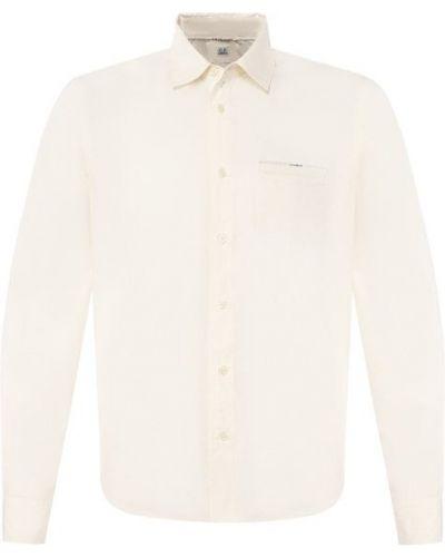 Белая рубашка хлопковая C.p. Company