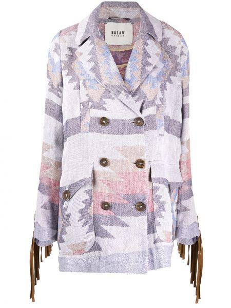 Płaszcz wełniany z kieszeniami Bazar Deluxe
