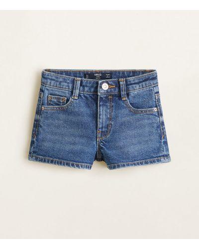 Шорты джинсовые хлопковые Mango Kids