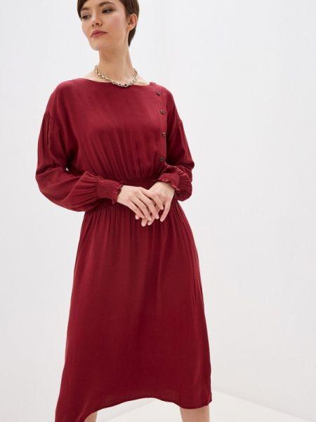 Платье прямое красный Zarina