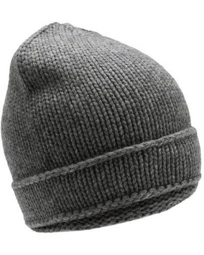 Вязаная шапка кашемировая шерстяная Tegin