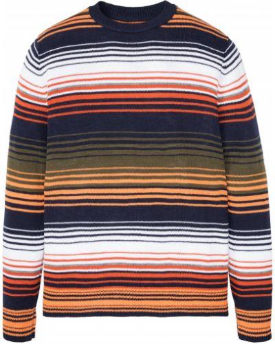 Зеленый пуловер круглый с круглым вырезом Bonprix