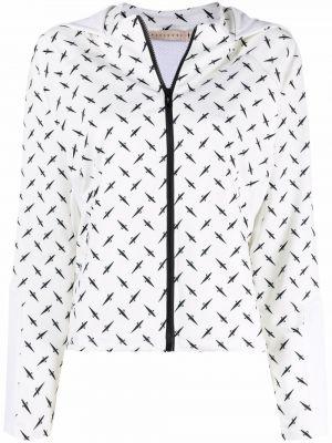 Куртка с капюшоном - белая Cesare Paciotti