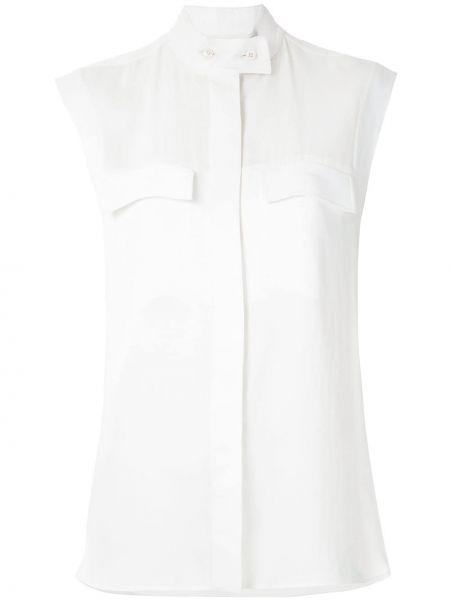 Рубашка без рукавов - белая Gloria Coelho