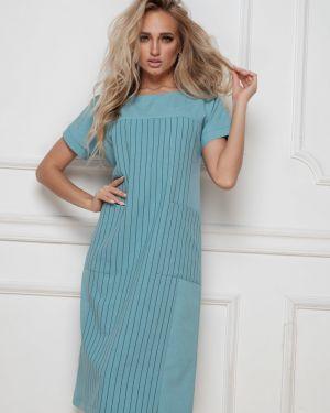 Платье платье-сарафан с карманами Leleya