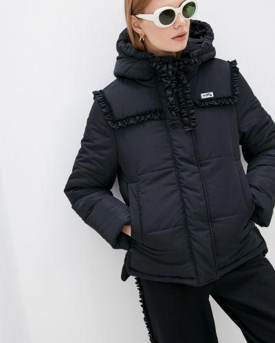 Утепленная куртка - черная Vivetta