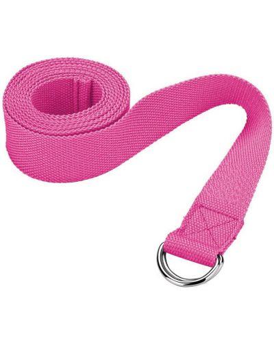 С ремешком розовый ремень металлический для йоги Start Up
