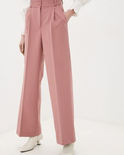 Повседневные розовые брюки Doroteya
