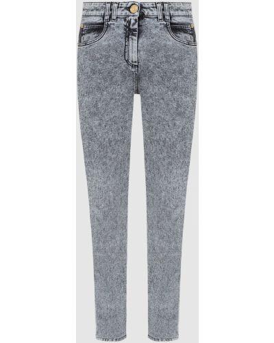 Серые джинсы Balmain