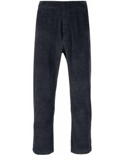 Niebieskie spodnie bawełniane Barena