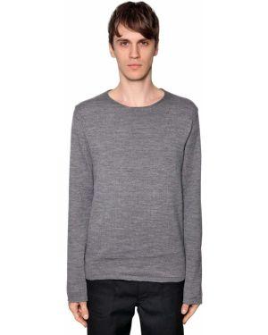 Prążkowany sweter wełniany Comme Des Garcons Shirt