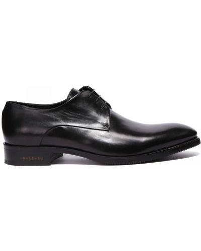 Кожаные туфли закрытые круглые Baldinini