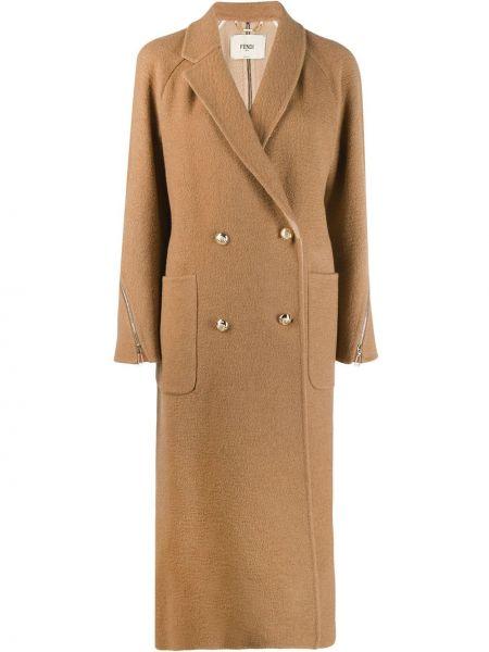 Пальто с запахом пальто-тренч Fendi