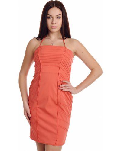 Коралловое платье Blumarine