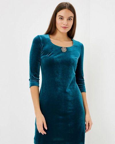 Вечернее платье - бирюзовое Aelite