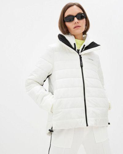 Белая куртка осенняя Calvin Klein