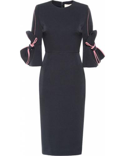 Платье миди коктейльное модерн Roksanda