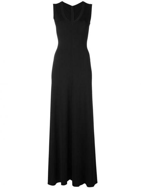 Платье с V-образным вырезом винтажное без рукавов на молнии Alaïa Pre-owned