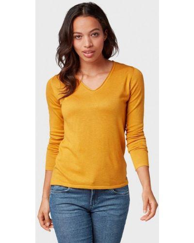 Желтый пуловер Tom Tailor