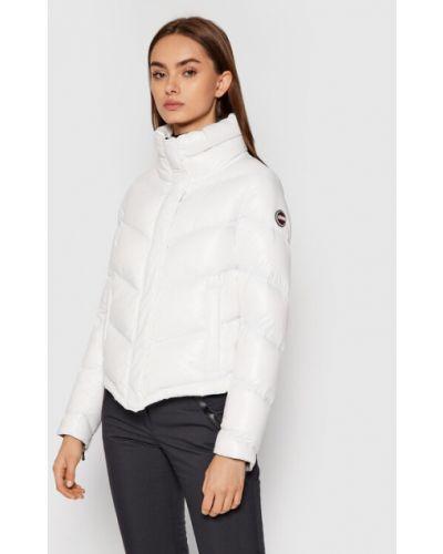 Biała kurtka puchowa Colmar