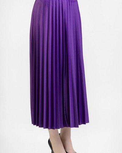 Плиссированная юбка фиолетовый итальянский Intrico