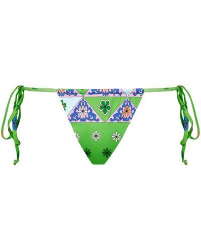 Нейлоновые пляжные плавки бикини с завязками Frankie's Bikinis