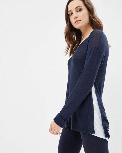 Синий пуловер Iwie