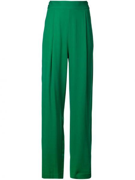 Свободные брюки со складками свободного кроя с высокой посадкой на молнии Michelle Mason