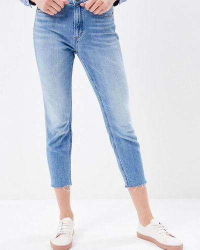 Голубые джинсы-скинни Marc O`polo