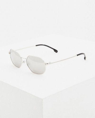 Солнцезащитные очки серебряного цвета Versace