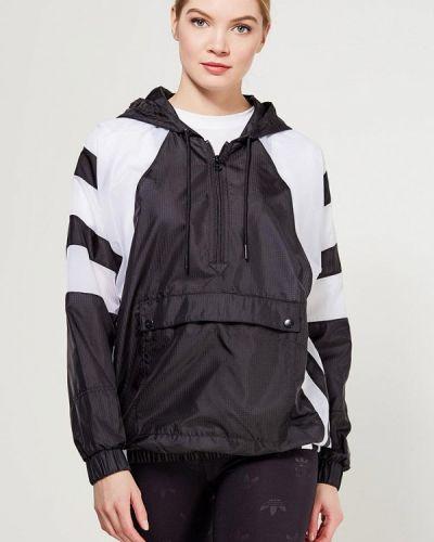 Черная ветровка Adidas Originals