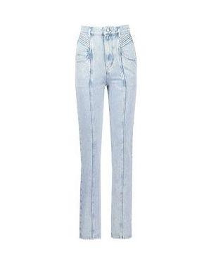 Прямые джинсы расклешенные Isabel Marant Étoile