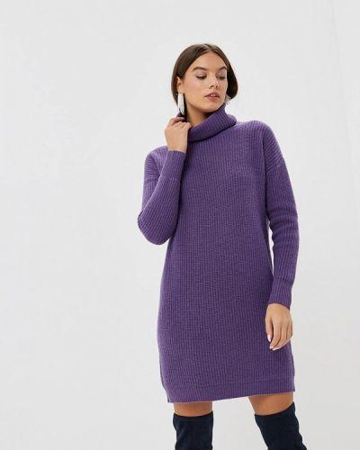 Платье осеннее фиолетовый Rodier