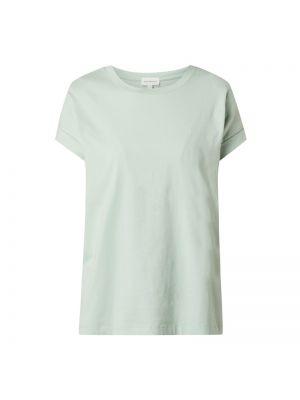 Zielony t-shirt bawełniany Armedangels