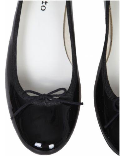 Czarne balerinki Repetto