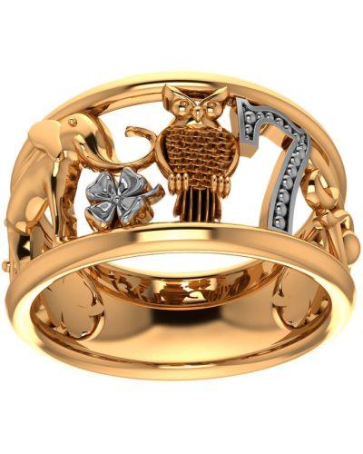Кольцо из золота из серебра Pokrovsky