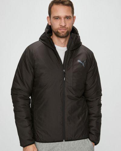 Утепленная куртка с капюшоном укороченная Puma