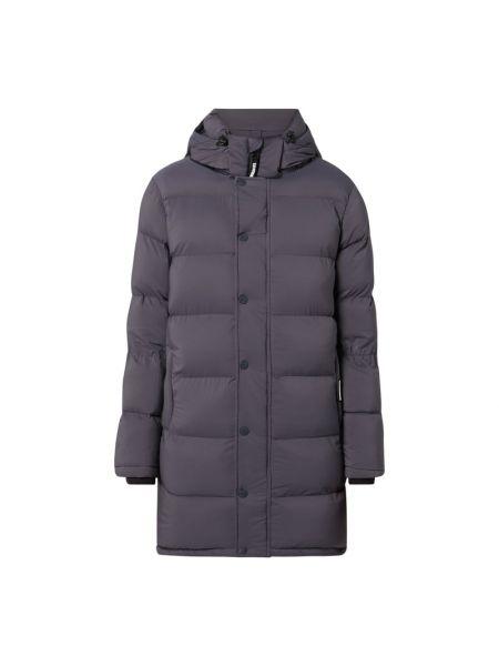 Fioletowa kurtka pikowana z nylonu Khujo