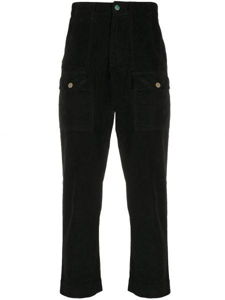 Bawełna spodni bawełna czarny bojówki Palm Angels
