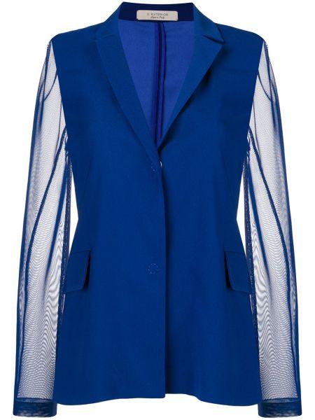 Синяя куртка D.exterior